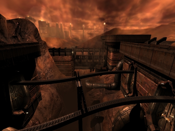 Doom3 - Martian Landscape.