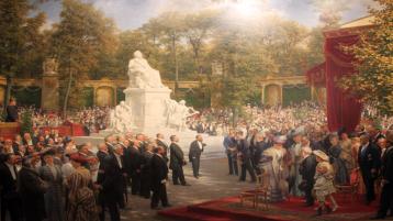 1908-Anton-von-Werner-Enthuellung-Richard-Wagner-Denkmal-Tiergarten-anagoria
