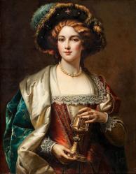 Cesare-Auguste-Detti-1847-1914 Noblewoman
