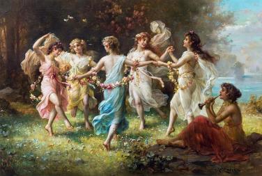 Hans-Zatzka 1859-1945 - Fairy-Dance-Variant