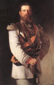 Heinrich-von-Angeli-1874-Kronprinz-Frederick III-as-German Emperor