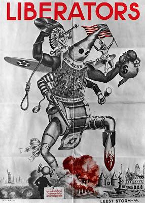 Liberators-Kultur-Terror-Anti-American-Zionism-1944-NS-Propaganda-Poster