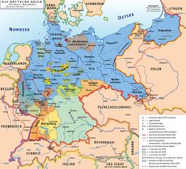 Post-WWI-Weimar-Republik-Deutschland