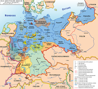 Post-WWI-Weimar-Republik-Deutschland