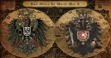 Welt-Krieg-I-Das-Deutsches-Kaiserreich-und-Österreichisch-Ungarische-Monarchie