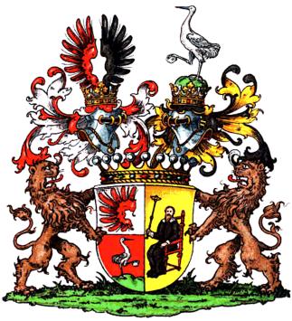Alfred-Freiherr-von-Krane Wappen-und-Handbuch-des-im-Schlesien (einschliesslich der Oberlausitz) landgesessenen Adels. Goer