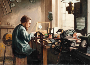 J.C. New - The Electrician-1890s