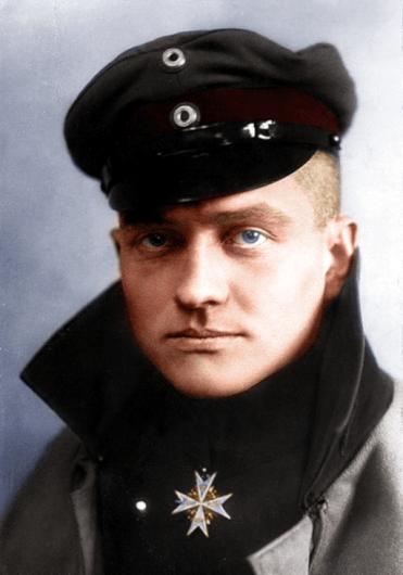 Manfred-Albrecht-Freiherr von Richthofen-Portrait-I
