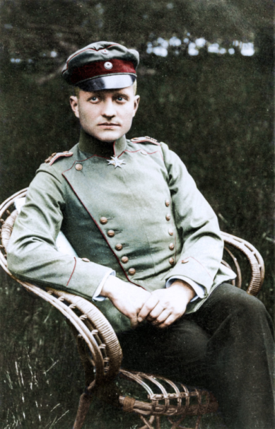Manfred-Albrecht-Freiherr von Richthofen-Portrait-II