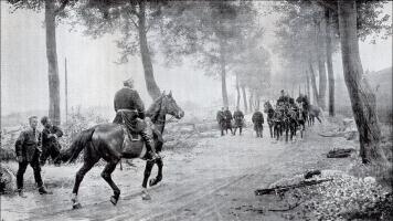 Begegnung Bismarcks mit Napoleon III. bei Sedan, 2 septembre 1870