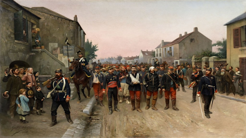 Carl Röchling-Prusssian-Soldiers-in-France